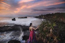#元旦去哪玩#巴厘岛海神庙的辉煌日落