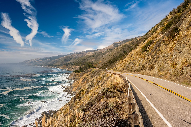 加州1号公路旅游景点图片