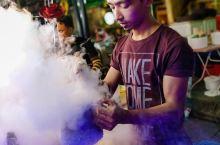 吉隆坡的美食街