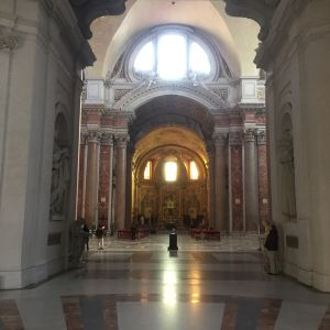 天使与殉教者圣母大殿旅游景点攻略图