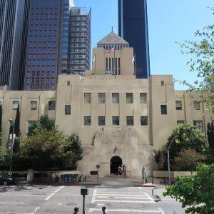 洛杉矶中央图书馆旅游景点攻略图