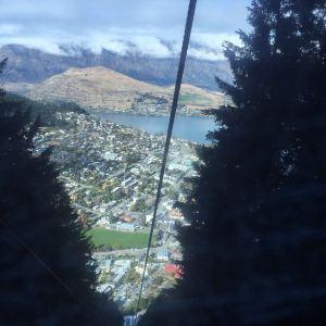 皇后镇天空缆车旅游景点攻略图