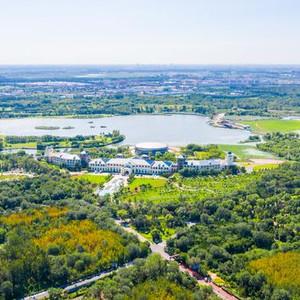 唐山游记图文-昔日采煤沉降区,今日花香弥漫的城市会客厅,从南湖窥见唐山