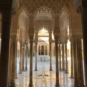 阿尔罕布拉宫旅游景点攻略图
