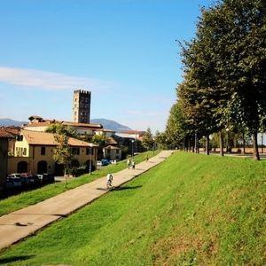 卢卡城墙旅游景点攻略图