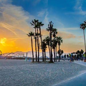 威尼斯海滩旅游景点攻略图
