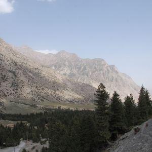 奥依塔格冰川公园旅游景点攻略图