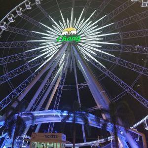曼谷夜市摩天轮旅游景点攻略图