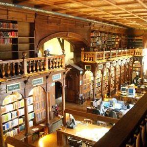 博德莱安图书馆旅游景点攻略图