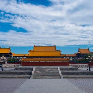 华山西岳庙东道院旅游景点攻略图