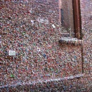 口香糖墙旅游景点攻略图