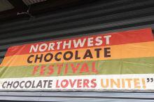 美国西雅图2017年11月巧克力节—91号史密斯游船码头