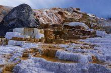 黄石公园猛犸热泉