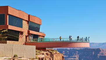 西峡谷玻璃桥