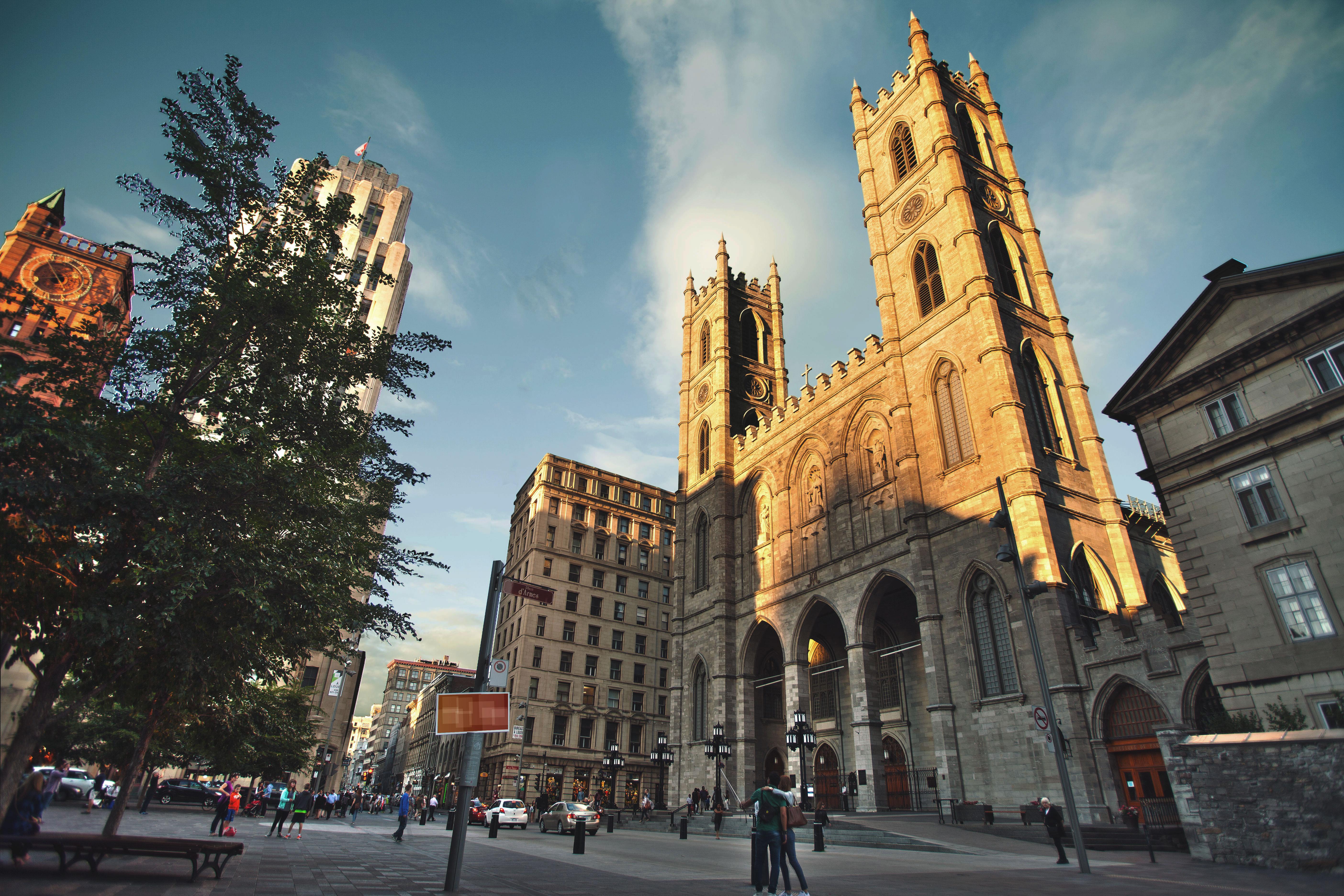 蒙特利尔圣母大教堂旅游景点图片