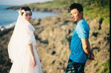 我带着我的婚纱环宝岛,与路上相遇的你拍婚纱照