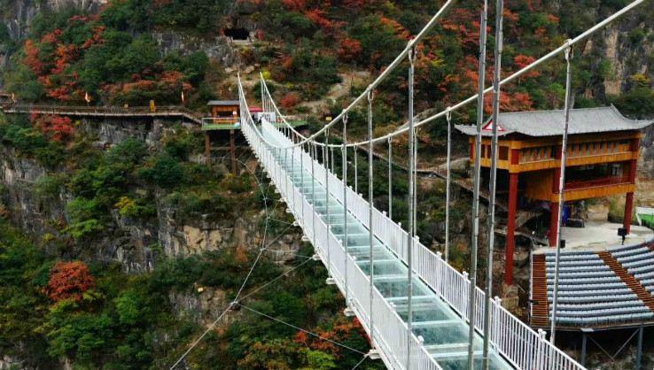 Qinling Dongtian Fudi Scenic Area3