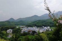 江西武功山路边的小村庄随拍