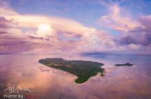 沙巴鲜有人知的粉色心形小岛,少女心爆棚,日出比天空之镜更美