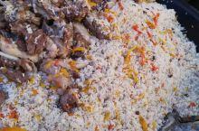 巴楚红海景区的美食