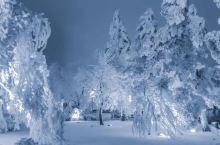 雪后庐山的风景