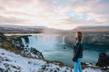 冰岛 打卡壮观的众神瀑布