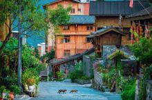 #向往的生活#坐落在崇山绿水之间的磨西古镇