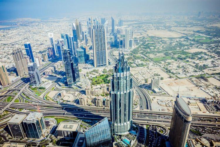 At the top Burj Khalifa3