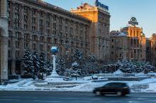 行天下|「乌克兰」安静与繁忙交融的独立广场