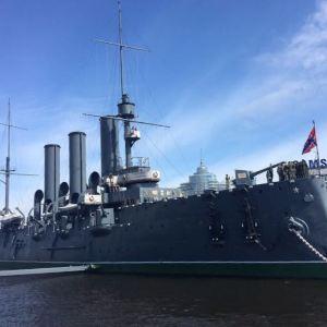阿芙乐尔号巡洋舰旅游景点攻略图