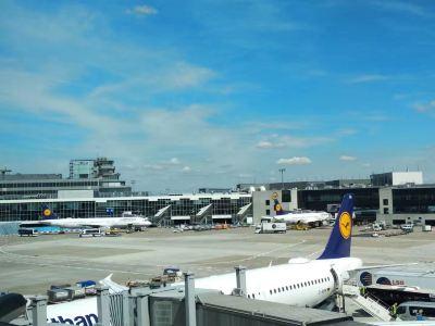 法蘭克福機場2號航站樓觀景台