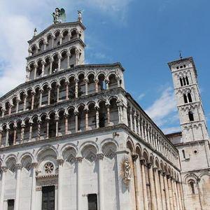 卢卡圣米歇尔教堂旅游景点攻略图