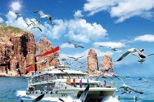 烟台长岛海上玩法之一:万鸟岛航线揭秘