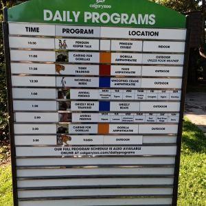 卡尔加里动物园旅游景点攻略图