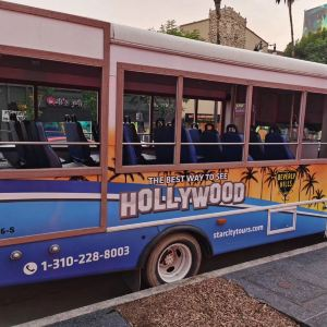好莱坞星光大道旅游景点攻略图