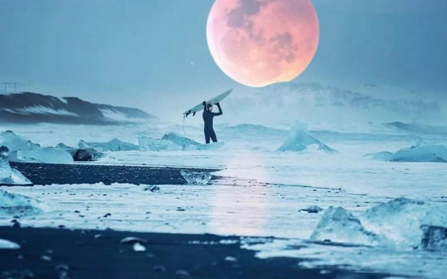 地球上有个地方,魔幻得不像地球的冰岛