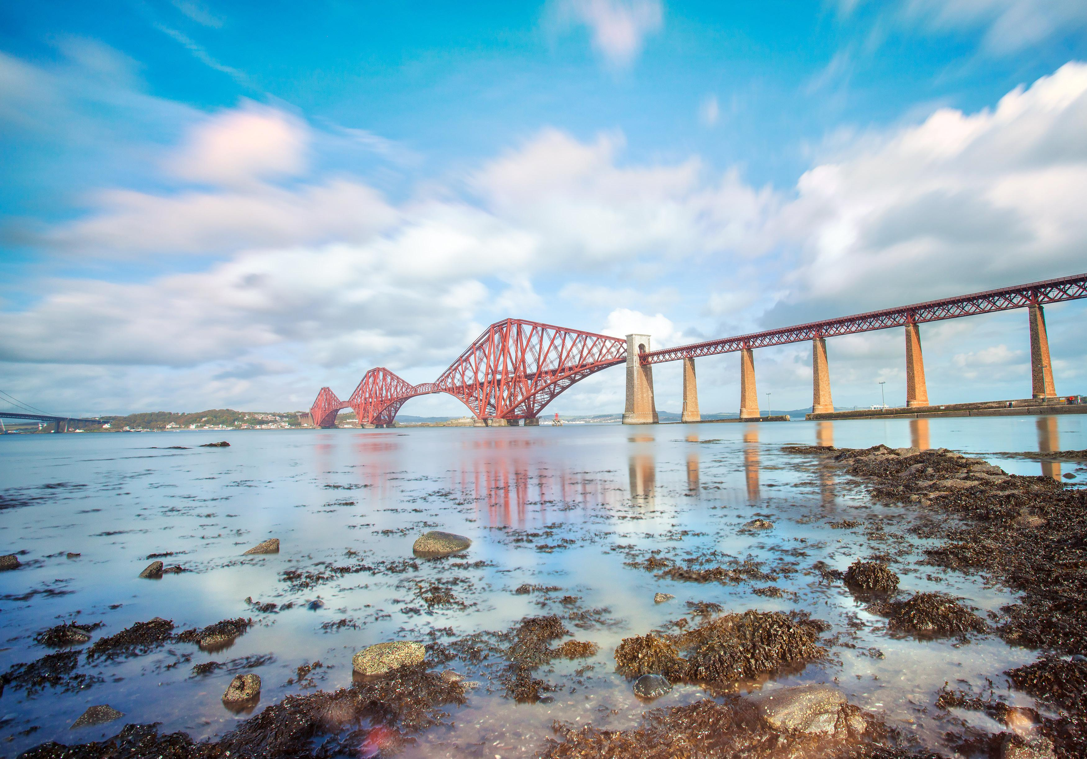 Обои alba, scotland, Шотландия, эдинбург, форт-бридж, forth bridge, edinburgh. Города foto 18