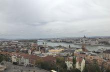在高处俯视布达佩斯