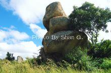 津巴布韦大自然的平衡石