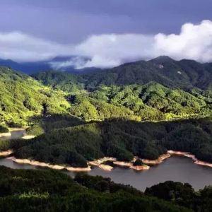 天堂湖景区旅游景点攻略图