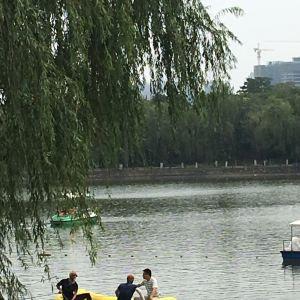 未央湖游乐园旅游景点攻略图