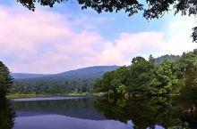 初秋,这个角度看镜泊湖,山水灵动,致美仙境!