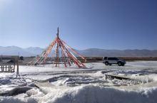 冬季的青海湖,高原上的滑雪场