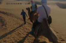响沙湾骑骆驼