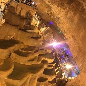 地下倒石林旅游景点攻略图