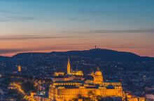 布达佩斯城市风光