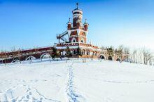 哈尔滨伏尔加庄园的俄罗斯式之冬!