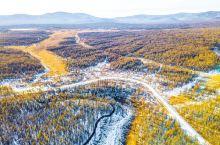 哈拉哈不冻河,自然之美