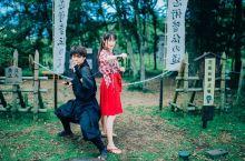#日本小众攻略类# 圣地巡礼「忍野忍者村」