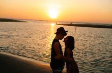 在沙巴和我最爱的人一起看最美日落